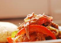 Carne Mechada a la Italiana